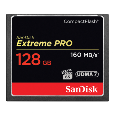 SanDisk 128GB Compact Flash CF