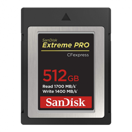 SanDisk CFexpress 512GB 1700/1400MBs