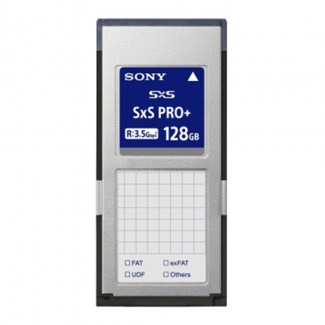 Sony 128GB SxS Pro+ Memory Card 440/400MB/s