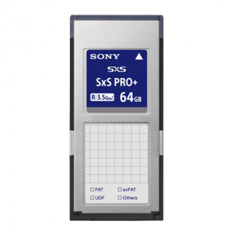 Sony 64GB SxS Pro+ Memory Card 440/400MB/s
